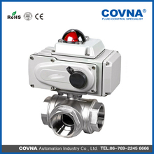 Water Media Electric Control Ball Valve ,unique 3 way diverter valve DN20,3/4 inch