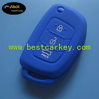 Best price 3 button car key silicone case for hyundai smart key cover for silicone key case