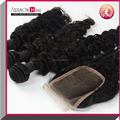 Factory Wholesale Remy Blonde Hair Bundles With Lace Closure