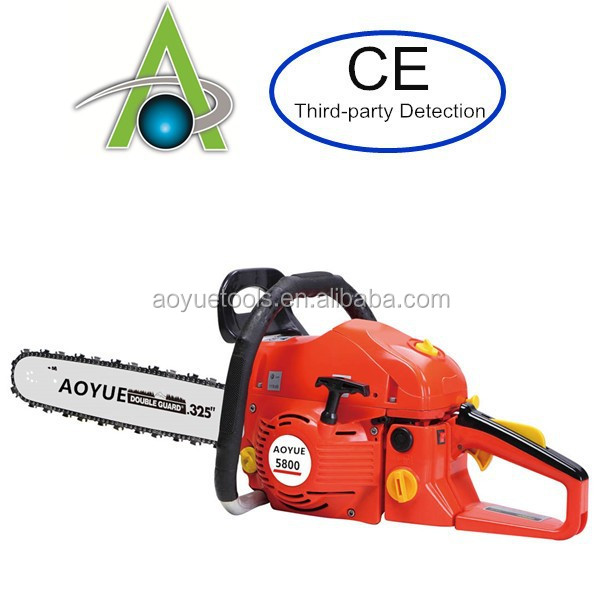 big power 58cc royal chainsaw, 20 inch 5800 gasoline saw