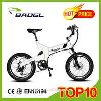 20 INCH electric folding bicycle electric bike chain drive