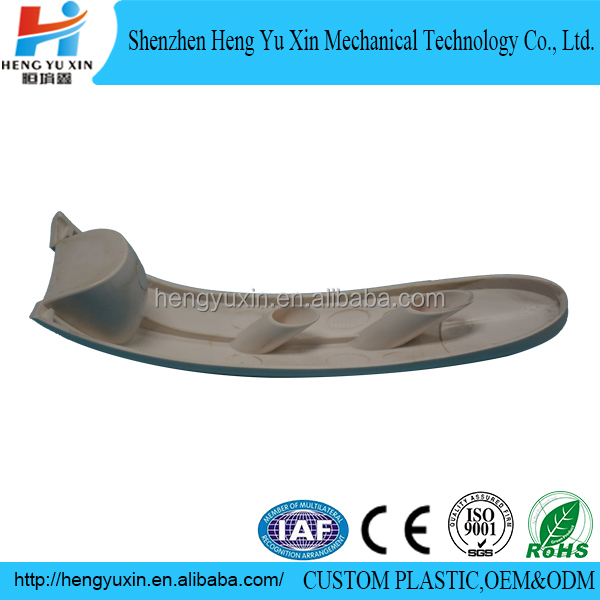 injection molded clear abs plastic handle