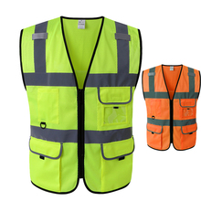 ANSI class 2 yellow industrial <strong>safety</strong> vest road <strong>safety</strong> product