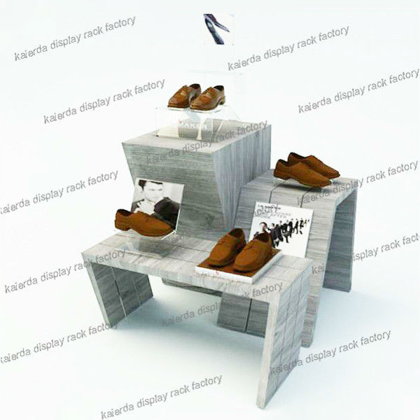 Hot Sell White Seperate Shoe Display Racks