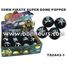 2016 Novelty Toy 55MM Pirate Super Dome Popper