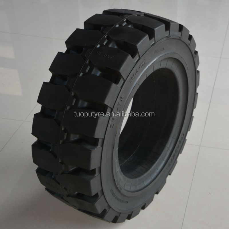 250-15 Forklift Tire with Cutting Resistance