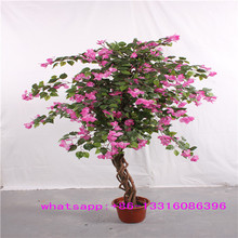 LXY072333 China wholesale fake flower plants decoration artificial bougainvillea bonsai tree