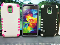 Dual Color 2 in1 TPU and PC promotional case for samsung s5