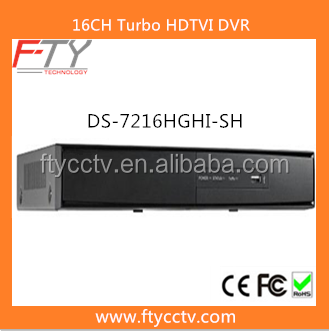 Alibaba Recommend DS-7216HGHI-SH H.264 Standalone 16 Channel Hikvision DVR