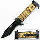 9 Inch stainless steel outdoor survival classic folding pocket knife