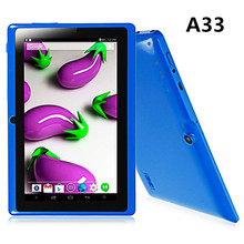 "Cheapest 7"" android tablet pc a33 quad core 512/8gb in stock"