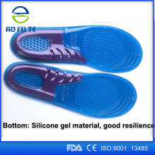 Eva slipper shoe insoles arch support liquid gel shoe padded insoles