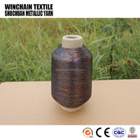 MX type multi-color/tri-color metallic yarn