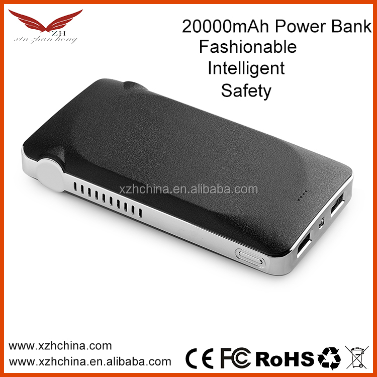 Shenzhen Supplier Power Bank 20000mAh 18650 Battery Charger for Mobile Phone,Customized logo is available