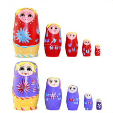 FQ brand high quality wholesale wooden craft japanese wooden nesting doll