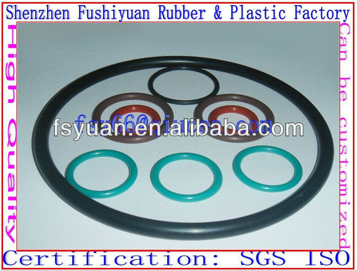 refrigeration industry silicone rubber O rings NR CR NBR EPDM NBR NBR rubber ring joint gasket