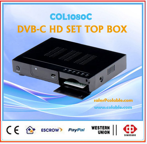 COL1080C hdmi output stb,hdmi tv receiver,rf decoder