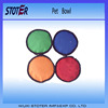 Double high Quality Waterproof Folding Portable Pet Bowl