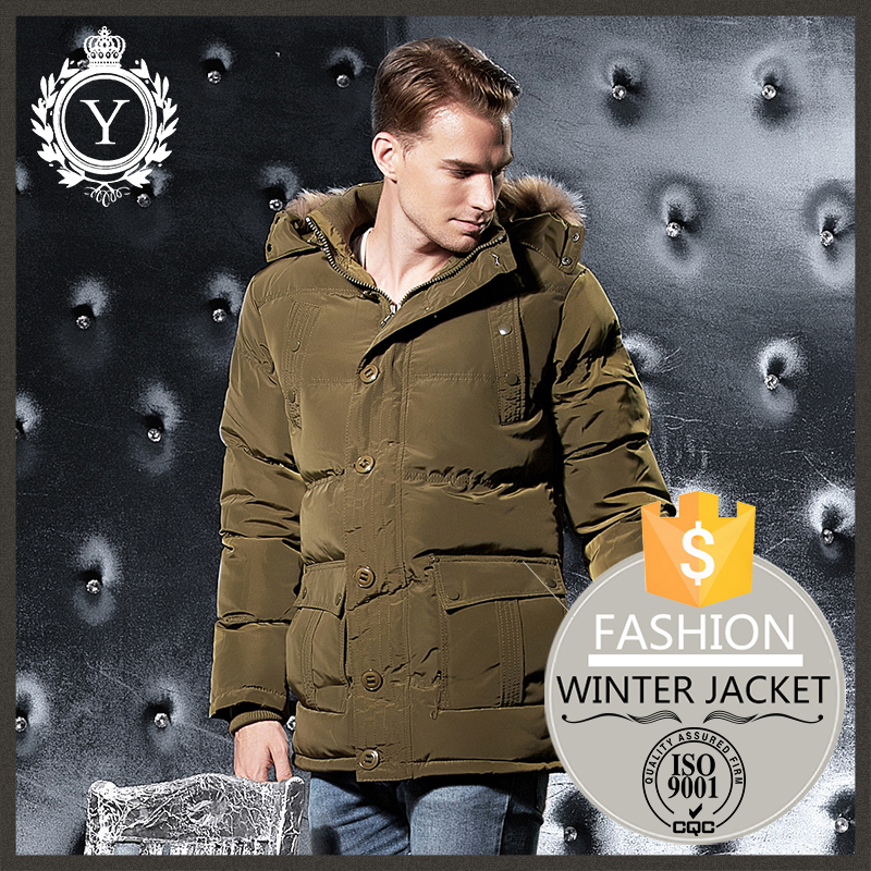 COUTUDI winter real fur hoodie solid thick army warm anorak parka jackets/ nylon parka jackets
