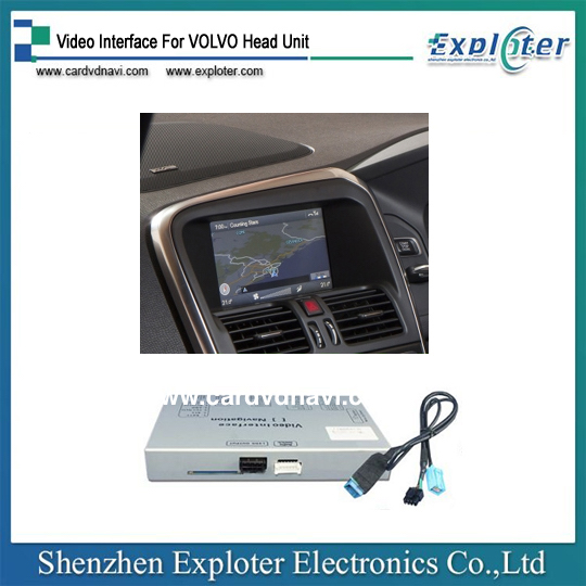 Auto Parts Car Android Video Interface for Volvo S60 XC60 V60 S80 2011-2015