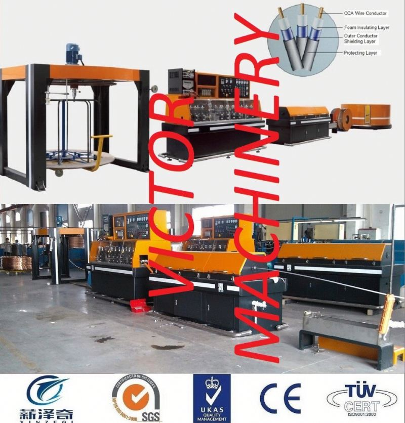 Wire and cable insulation manufacturing machine