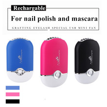 Electric Air Conditioning Blower for Eyelash Extension Rechargable USB Mini Fan