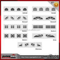 European Style Garage Door Window Kit