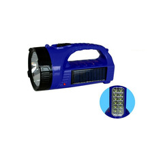 1w+8smd led handle light solar rechargeable lanterns