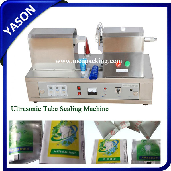 Ultrasonic Cosmetic Plastic Tube End Tail Sealing Machine,Ultrasonic tube sealing machine with cutting&coding