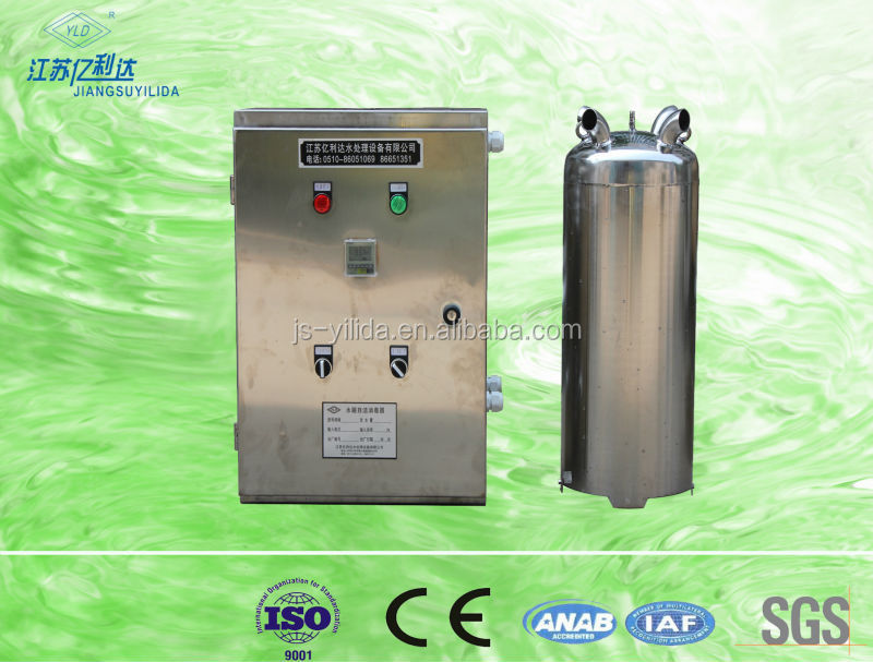 high efficiency water-tank ozone sterilization water purifier for swimming pool/water storage tanks
