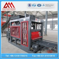 hydraulic high yield strong middle brick plant QT4-18 brick making machines with latest technology
