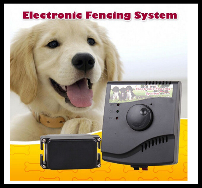 W227 waterproof rechargeable electric wireless fencing system outdoor temporary dog fence