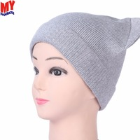 Hot Sale Unisex Knit Baggy Beanie Beret Winter skiing cap winter hat