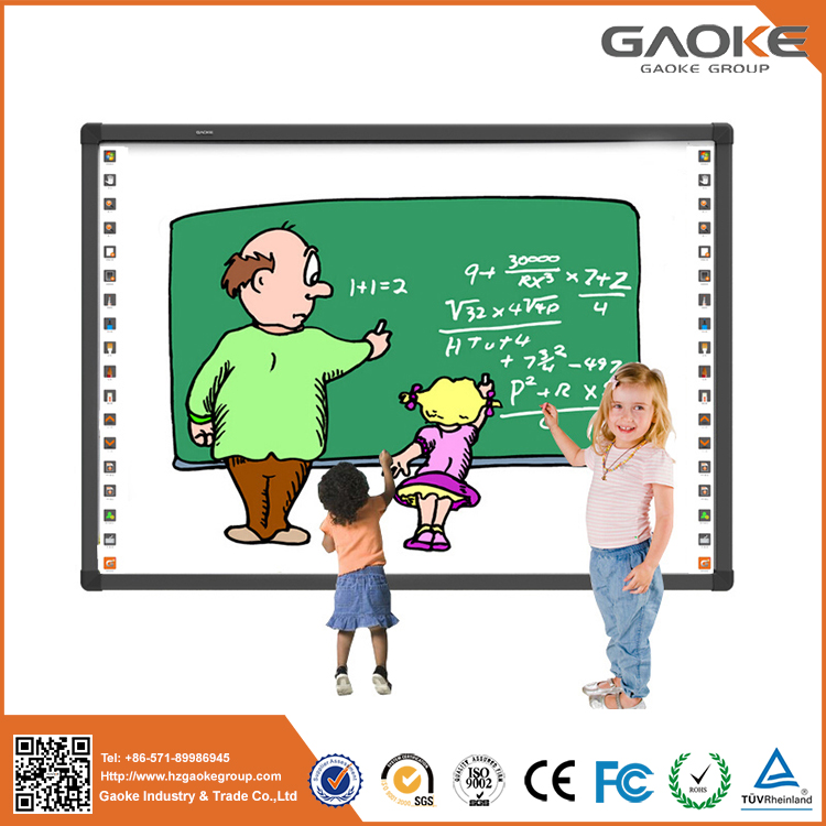 Trustworthy china supplier school use metal plate material magnetic interactive whiteboard