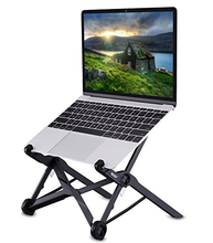 Portable computer stand, laptop table for bed, height adjustable laptop stand