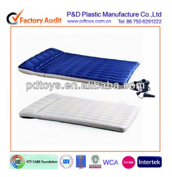 I beams PVC Floack Queen size Air Bed