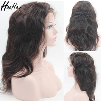 Chinese Factory Glueless Real Virgin Brazilian Human Hair Full Lace Wig