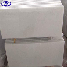 Chinese SiChuan pure crystal white marble slab and tile