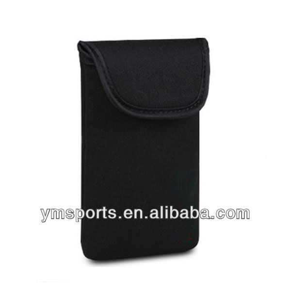 Neoprene pouch cover case for mobile phone