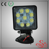 4inch cheap truck lights 27w road led work light with volvo led truck light