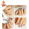 Daywons New Hot Selling Solid Color Fashion Smooth Nail Art Sticker Patch Foils Wraps Decoration
