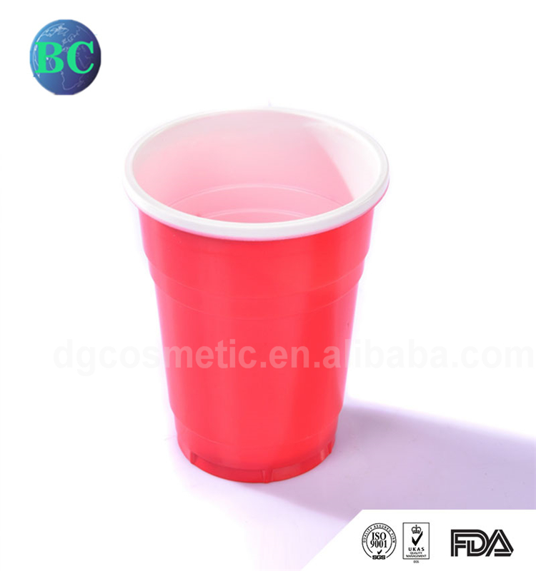 USA Market New Style Party Catering Wedding Juice PS 150ml Mini Red Plastic Cup
