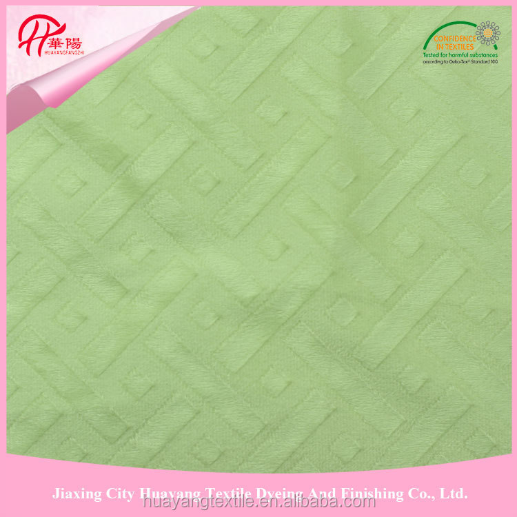 polyester knitted brushed mattress ticking fabric