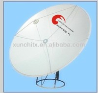 prime focus satellite dish 1.8m antenna