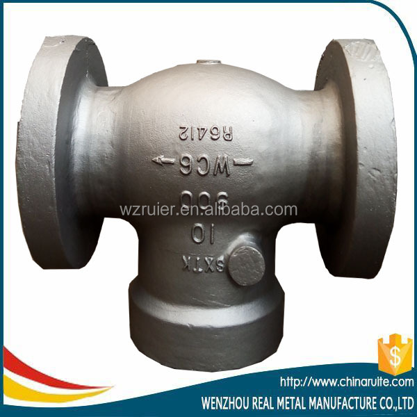 High quality casting steel swing check valve casting