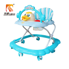 3C approved custom made round baby walker and baby walker seat cover