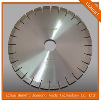 20mm segments silent 400mm edges cutting saw blades for granite