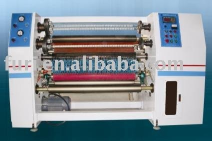 Slitter rewinder for adhesive tape /air blade stationery tape slitting machine