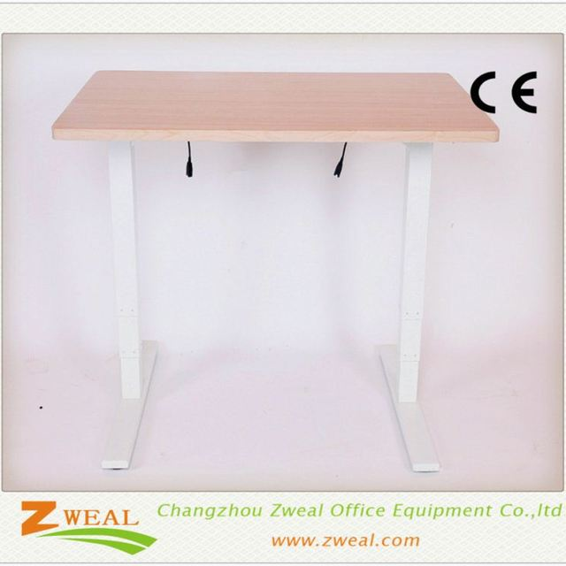 managerial office desk electric height adjustable table