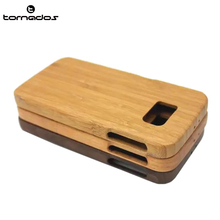 Natural Bamboo Wooden Cell Phone Case For Samsung S6 Back Cover